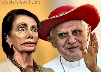 Pelosi and Pope