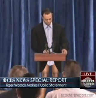 Tiger Woods News Conference