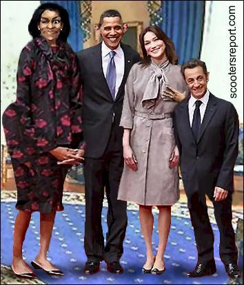 Obamas and Sarkozys