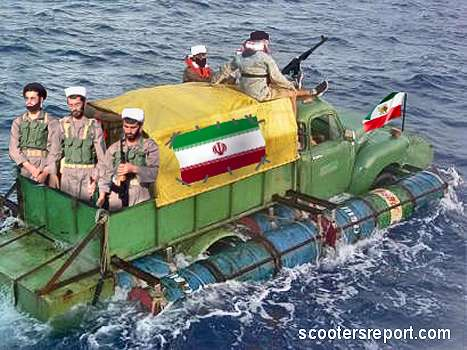 Iranian Destroyer