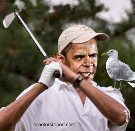 Obama on vacation
