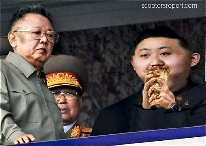 Kim Jong Il  and Kim Jong Un