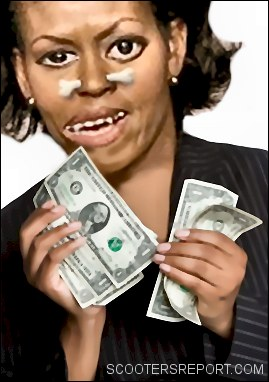 Michelle Obama asks for money