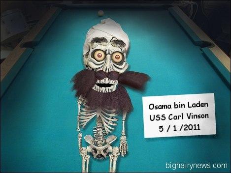 Dead Osama bin Laden