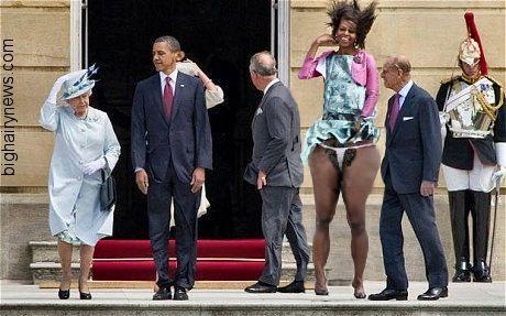 Obamas in London