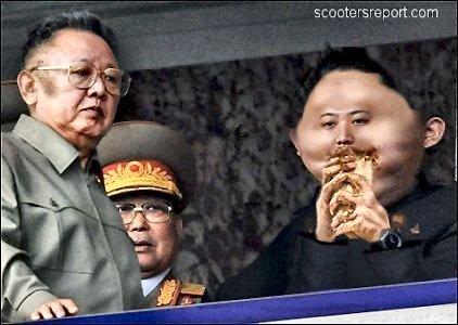 Kim Jong Il & Kim Jong Un