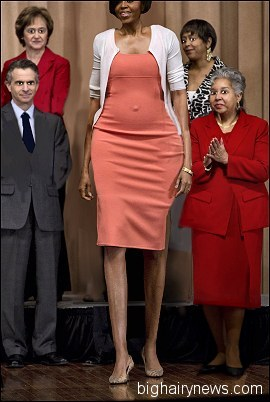 Michelle Obama photo op
