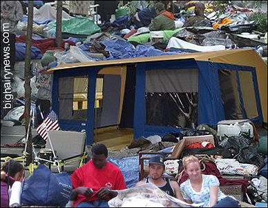 My tent in Zucotti Park