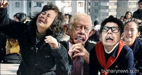 Jimmy Carter mourns Kim Jong-Il