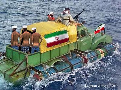 Iranian Navy Taunting US Navy