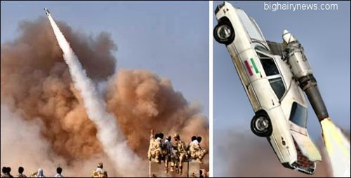 Iranian long range missile