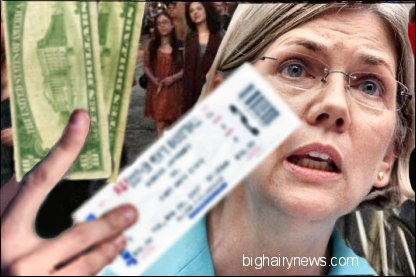 Elizabeth Warren scalping