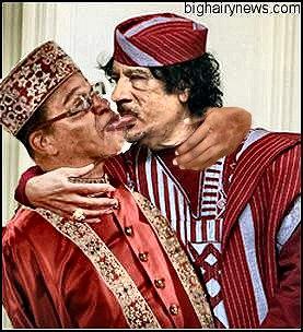 Farrakhan and Gadhafi