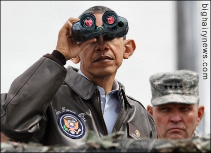 Obama Looks At North Korea