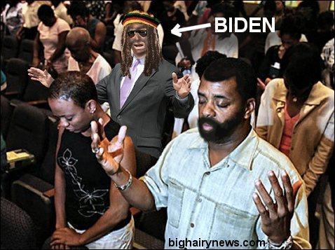 Joe Biden at Jeremiah Wright's church