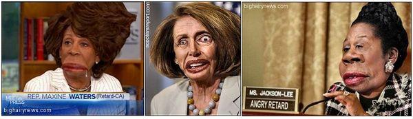 Maxine Waters Nancy Pelosi Sheila Jackson Lee