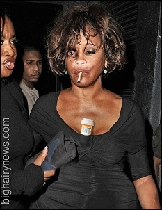 Whitney Houston in better days