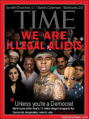 Time Illegal Aliens