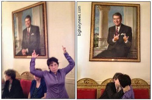 Zoe Strauss at White House