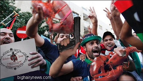 Muslims Celebrate Obama Lobster Grams