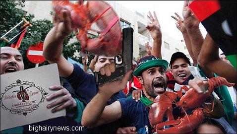 Muslims Celebrate Obama Lobster Grams
