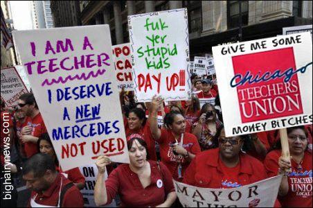 Striking Chicago Teachers