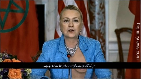 Hillary addresses Muslims