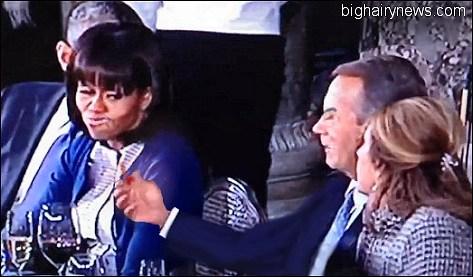 Michelle Bites Boehner