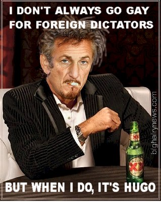 Sean Penn - most interesting man in the world