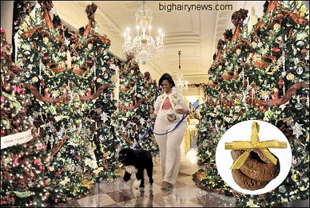 obama white house christmas michelle obama collects decorations - Obama Christmas Decorations