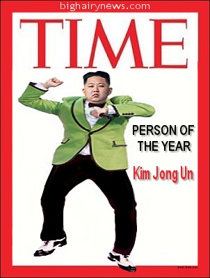 Kim Jong Un Time Person of the Year