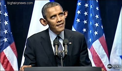 Obama Speech To Israeli People