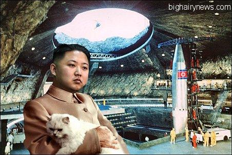Kim Jong-Un in missile base
