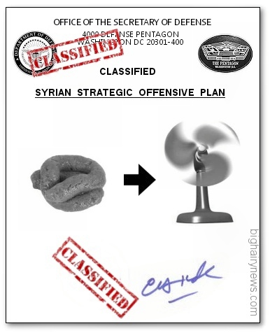 US Syrian strike plan
