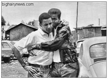 Barack Obama and boyfriend