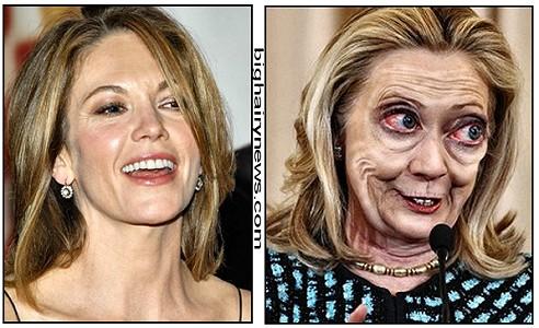 Diane Lane Hillary Clinton