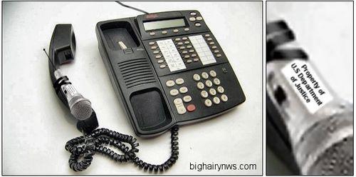 Bugged phone