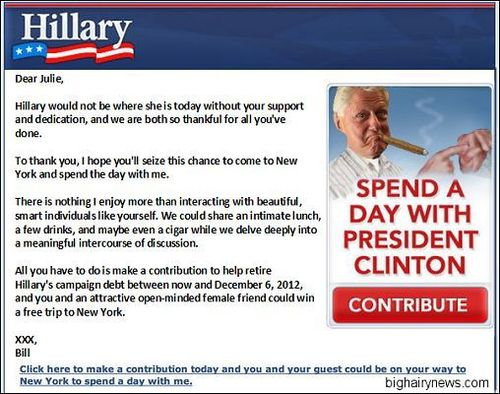 Bill Clinton email