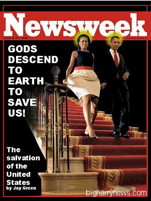 Obama Newsweek Cover