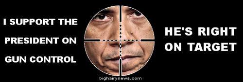 Obama on target
