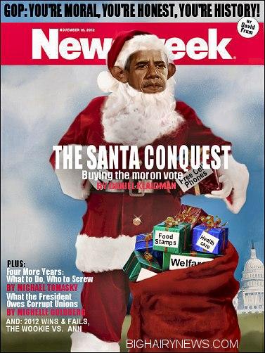 November Newsweek Obama Cover