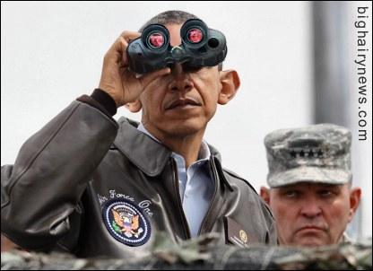 Obama Looks At North Korea