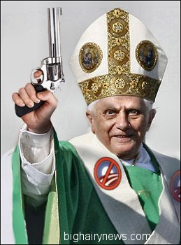 Angry Pope