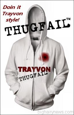 Trayvon Thugfail hoodie