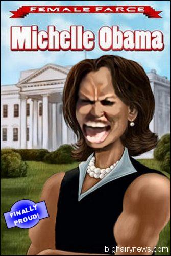 Michelle Obama Comic