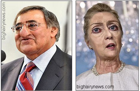 Panetta and Clinton