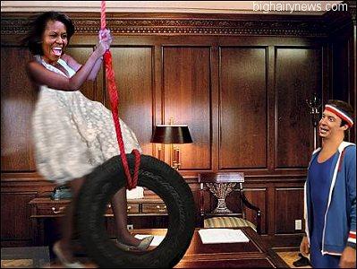 Michelle Obama and Fallon