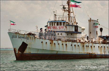 Iranian Naval ship