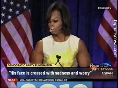 Michelle Obama at fundraiser