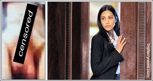 Perpatrator & victim Huma Abedin